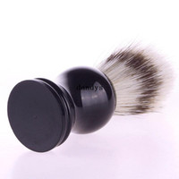Wholesale Professional Shaving Brush Barber Salon Shave Tool Faux Badger Bristle Hair dandys