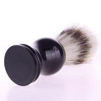 badger shave brush - Professional Shaving Brush Barber Salon Shave Tool Faux Badger Bristle Hair dandys