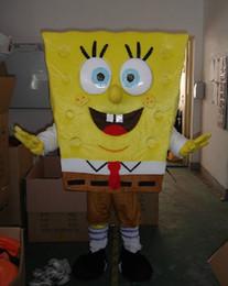 Wholesale High quality of Sponge bob Mascot Costume Sponge Bob Mascot Costume