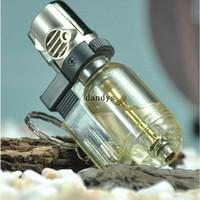 Wholesale Torch Lighter Flame Welding Gun Refillable Gas Butane Lighter Windproof Design dandys