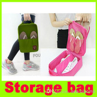 Wholesale New Travel waterproof ventilation shoes bags Pouch organizer slipper bag Storage bag admission package sorting bags shoes pouch
