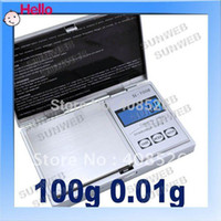 Cheap Mini Pocket electronic 100g x 0.01 Jewelry Gram Balance Weight Digital Scale free shopping 1443