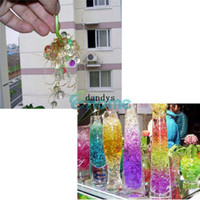 Wholesale 100 Packs set Magic Crystal Mud SoilWater Beads for Flower Plant Gift dandys