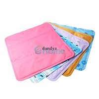 Polyester / Cotton Latex Square 39 x 35cm Summer Ice Cooling Cool Seat Mat Pad Laptop Chair Car Bed Ice Cushion#56901, dandys