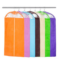 Wholesale Best Clothes Suit Dress Garment Dustproof Cover Bag Storage Bags Thicken Bag Clips Housekeeping New Arrival