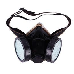 2017 masque pour les produits chimiques Cartouche industrielle respirateur gaz sécurité anti-poussière chimiques peinture Spray masque #45318 dandys masque pour les produits chimiques offres