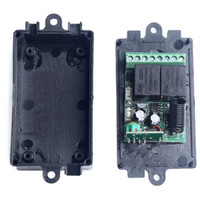 Wholesale New Arrival DC V CH Channel Wireless RF Transmitter Receiver Remote Control Switch