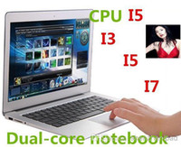 Wholesale Intel i5 CPU quot Ultrabook laptop Metal Case Dual core Ghz with GB GB RAM GB GB GB SSD Bluetooth Mah Battery HDMI