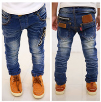 Jeans baby boy jeans - Hot sale new children s clothing boys wild baby jeans children trousers