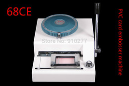 Wholesale HIGH GRADE MANUAL PVC CARD EMBOSSER CREDIT ID EMBOSSING MACHINE FREE WARRANTY