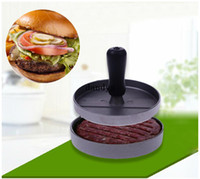 Wholesale 12cbakewarem Kitsilicone mold chen Hamburger Mould Meat Press Patty Maker Metal Machine Pounder Mold dandys
