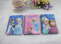 Wholesale Frozen Notebook Student Writting Books Sophia Diary Notebook Frozen Elsa Anna Princess Sophia Notebook Student Big Notepad CM FZ77