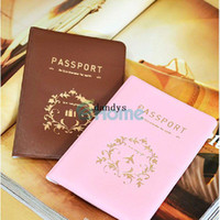 pvc cover - Travel Utility Simple Passport ID Credit Card Case Cover Holder Protector PVC dandys