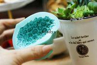 fondant roses - 3D DIY Rose Heart Shape Silicone Cake Mold Baking Fondant Surgacraft Mould Tool dandys