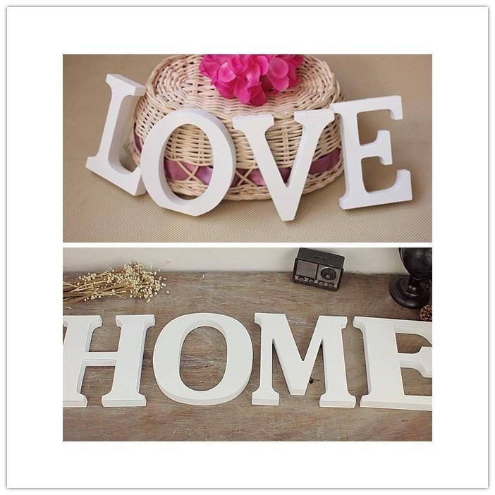 english letters wedding wood crafts wooden letters marking photo frame for wall decor home decor wedding photo props dp871302