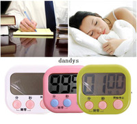 Wholesale Cute Digital Kitchen Electronic Clock Timer Count Kitchen Countdown Alarm Watch dandys