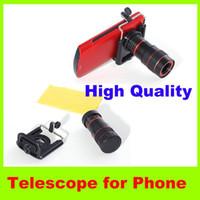 Wholesale new x Phone Telescope Boutique Universal Mobile Phone Telescope Digital Optical Zoom Lens outdoor Travel essential camera