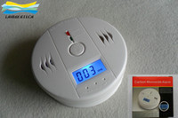 Wholesale 2014 Hot Home Security Safety CO Gas Carbon Monoxide Alarm Detector With Retail Box Bulid Your Own Home Alarms Systems