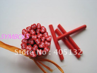 Wholesale g mm Cute Flying Red Heart Cane Fancy Nail Art Polymer Clay Cane