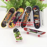 Wholesale Creative children s toys boys birthday gift Blister card mini finger skateboard Finger Skate Board