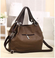 Wholesale HOT Special Offer PU Leather bags women messenger bag Splice grafting Vintage Shoulder Handbag