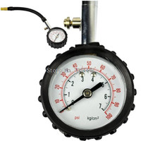 Wholesale New Precision Tire Pressure Meter Gauge Tyre Measure psi Swivel Angle Chuck Worldwide FreeShipping