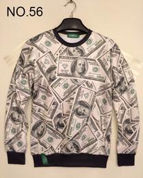 Wholesale 2014 new Winter print Pullovers mens hoodies Sweaters loves Stereo D Sweatshirt women s Sweatshirts men s T Shirt design Dollars