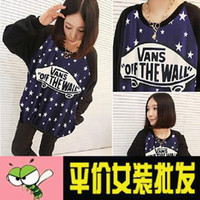 Cheap 2014 new autumn and winter in Europe and America tide brand skateboard stars Harajuku style shirt sweater woman