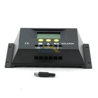 Wholesale SOLAR30 Solar Charge Controller Regulator LCD display A V V W solar panel regulator