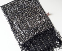 sequin scarves - Sequin scarf Shawl wedding dance Wraps Poncho Shinning