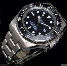 2017 new brand date men watch gift sea dweller silver ceramic bezel sea-dweller original clasp AAA quality officially chronometer mens watch