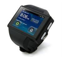 wifi gps - AOKE Z13 Watch Phone Android MTK6575 inch WiFi GPS Bluetooth Camera Single Sim Card watch Cell Phone