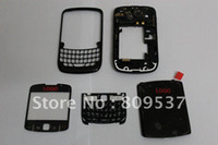 Wholesale cell phone full housing cover with middle part speaker mic For original new