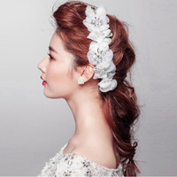 Cheap Beaded Hair Flower Best Bridal Accessories