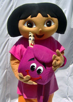 dora mascot - High quality Dora the Explorer and diego costume mascot Dora the Explorer and diego mascot costume d