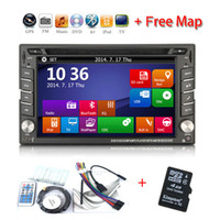 Cheap 2 DIN car dvd Best Universal In-Dash DVD Player 6.2 Inch car dvd player