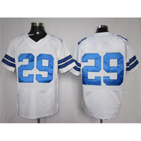 Cheap #29 Demarco Murray White Elite American Football Player Jersey Cheap and High Quality Stitched Custom Football Jerseys Mix Order
