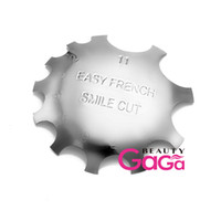 nail art supplies - BeautyGaGa Professional Nail Art Supply Regular Q Cutter French Manicure Tool Pink White Trimmer Nail Polish Sizes Nail Art Tool