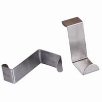 Wholesale Hot Sale Stainless Steel Kitchen Cabinet Door Hooks Wall Hanger Hanging Cloth Holder ZXO