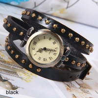 Wholesale Genuine Leather Watch with Studs Watches Women Fashion Luxury Watch OW13