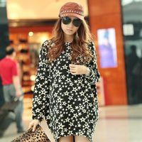 Cheap New 2014 plus size women clothing long slim long-sleeve personalized tops for women desigual punk t-shirt CM002