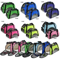 Wholesale Hotting Large Pet Carrier Soft Sided Cat Dog Comfort Travel Tote Bag Airline Approved