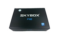 Wholesale 2014 Christmas Gift Skybox F5S HD p Pvr Satellite Receiver VFD Display Support USB Wifi Youtube Youporn Cccam