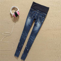 Wholesale 2013 maternity clothes boot feet pencil pants jeans maternity fashion pants jean