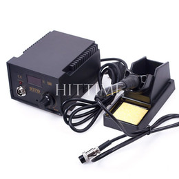 Wholesale Practical D SMD V Solder Soldering Iron Station Welding SMD Tool Tips Stand ESD