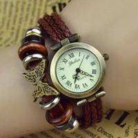 Wholesale Bohemia women s watch fashion bracelet vintage table ladies watch zakka butterfly watch OW25