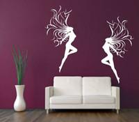 Cheap Beautiful Naked Woman Sexy Stylish Wall Paper Mural Beauty Salon Wall Art Wall Sticker Home Decal