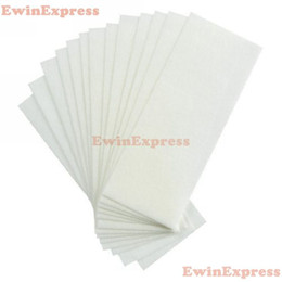 Wholesale Disposable Hair Removal Paper Sets Removal Depilatory Wax Strip Nonwoven Epilator Paper Waxing Salon Spa