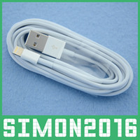 Wholesale 1M Pin Pin Sync Data USB Lightning Cable Charging Cords Charger Wire Line for iPhone C S Plus iPhone S Support IOS