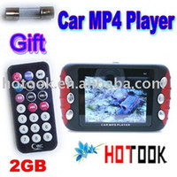 "Cheap Wholesale 2.4"" screen 2GB Car audio Car MP4 MP5 Player x 25 pcs -- ship via express"
